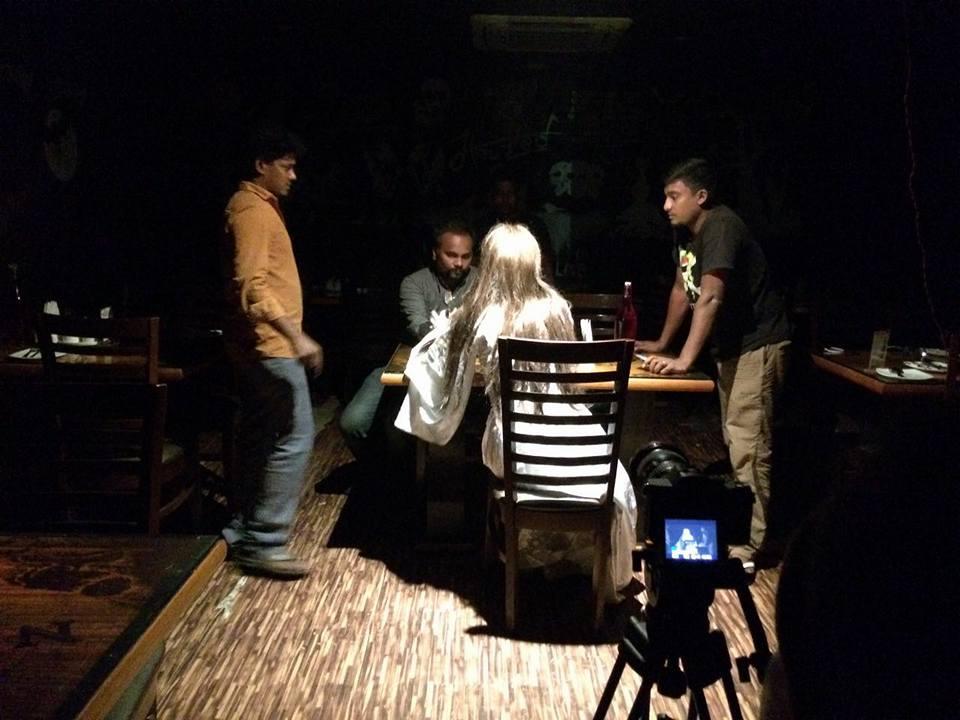 Haunted Restaurant TVC working Stills